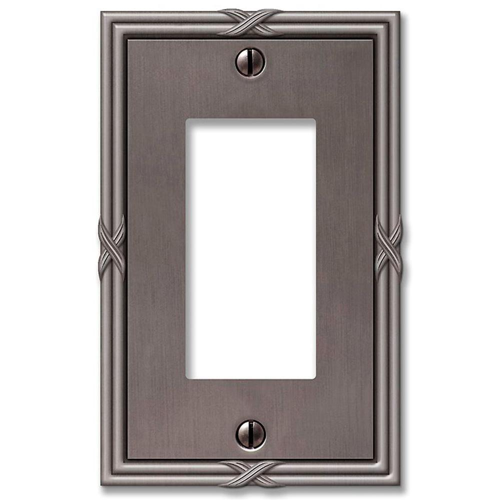 Amerelle Ribbon and Reed 1 Decora Wall Plate