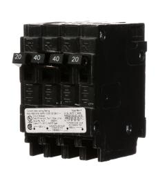 murray triplex two outer 20 amp single pole and one inner 30 amp double pole circuit breaker mp23020 the home depot [ 1000 x 1000 Pixel ]