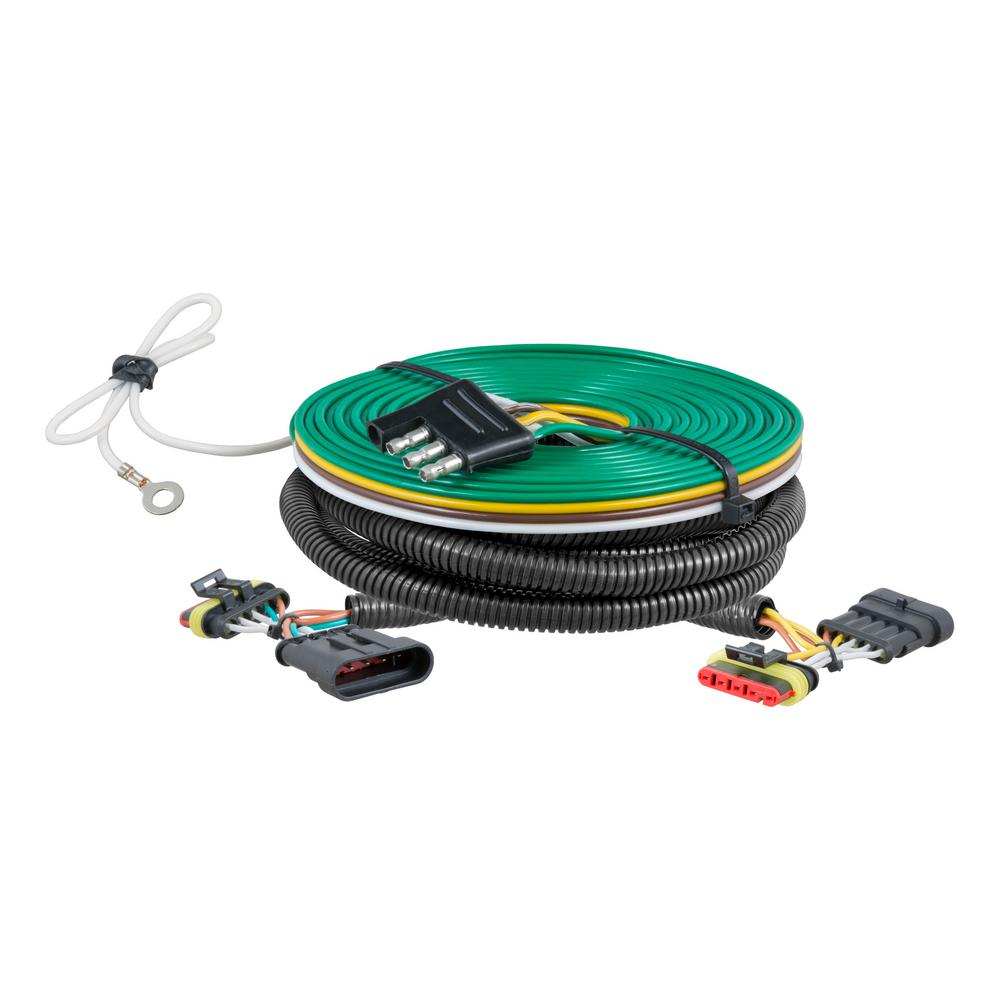 medium resolution of curt custom towed vehicle rv wiring harness 58911 the home depot jeep tow vehicle wiring harness