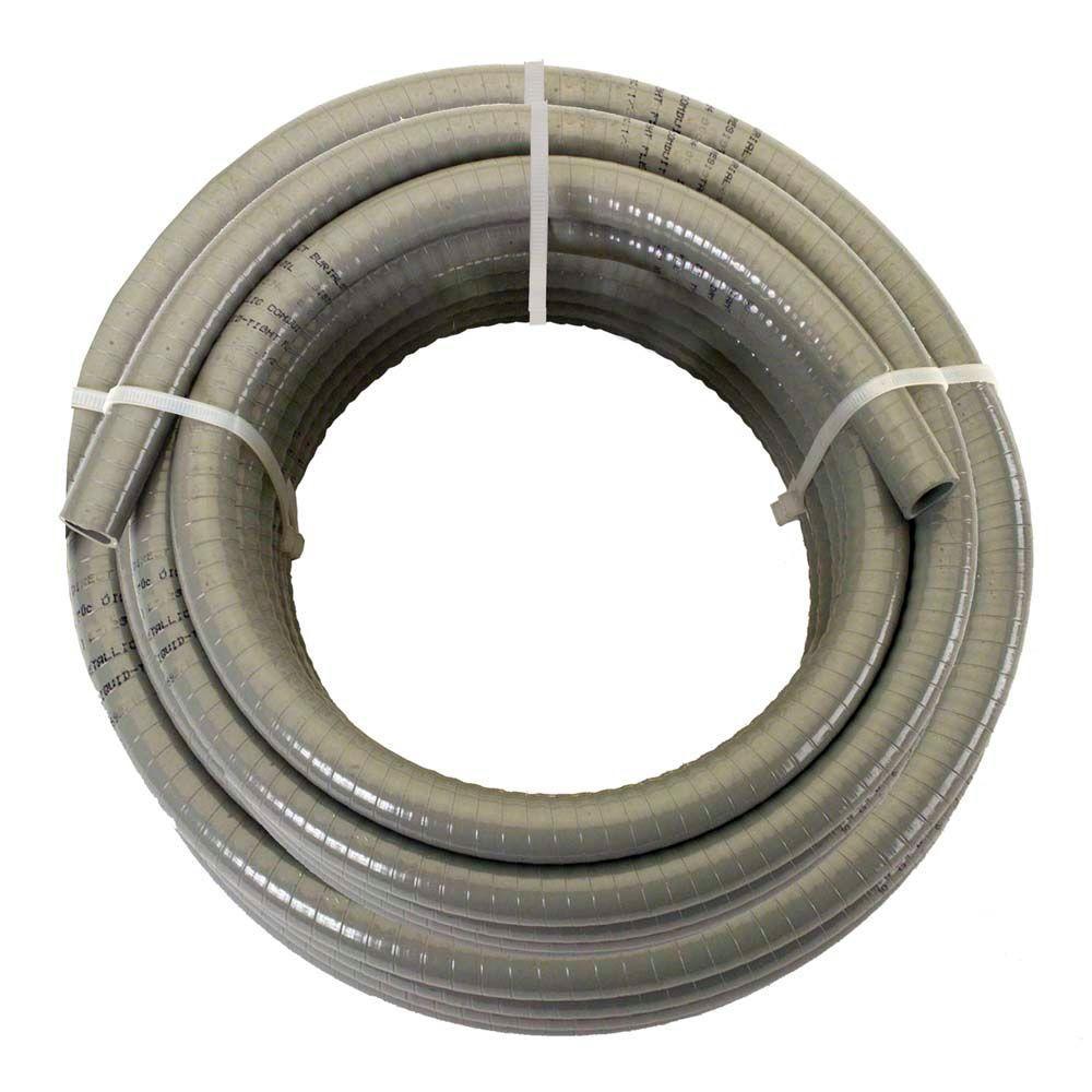medium resolution of afc cable systems 1 2 x 25 ft non metallic liquidtight conduit