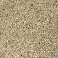 Natco Plush Natural 8 ft. x 12 ft. Bound Carpet Remnant ...