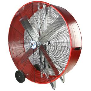 MaxxAir 48 in 2Speed Drum FanBF48BDRED  The Home Depot