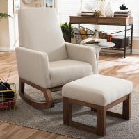 Baxton Studio Yashiya Mid-Century Beige Fabric Upholstered ...