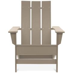Modern Adirondack Chair Feet Replacements Durogreen Aria Weathered Wood Recycled Plastic