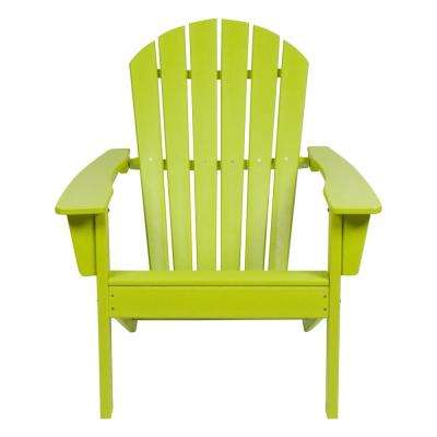 green resin patio chairs hanging chair ebay australia plastic furniture best rated seaside lime adirondack