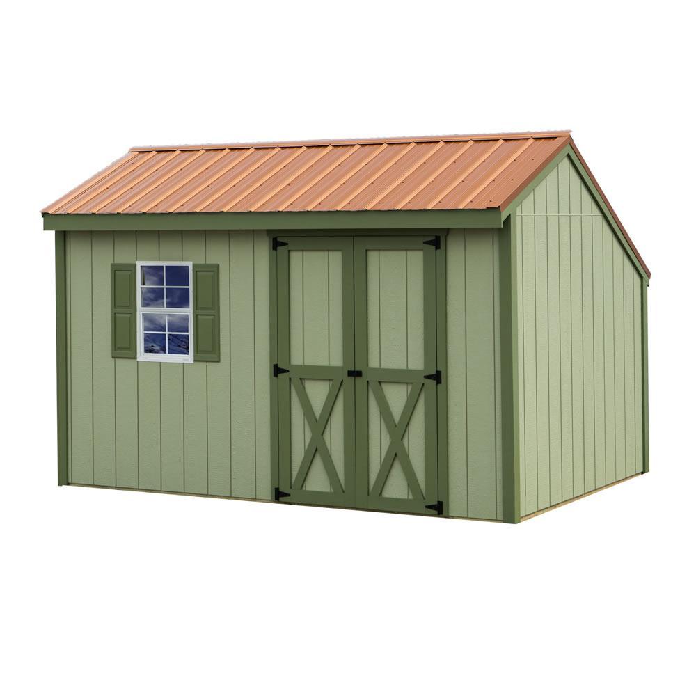 medium resolution of wood storage shed kit
