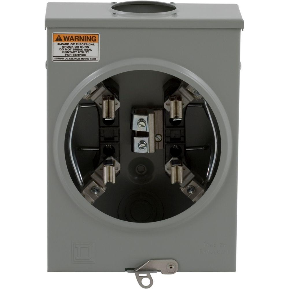 hight resolution of 100 amp ringless horn bypass overhead or underground meter socket