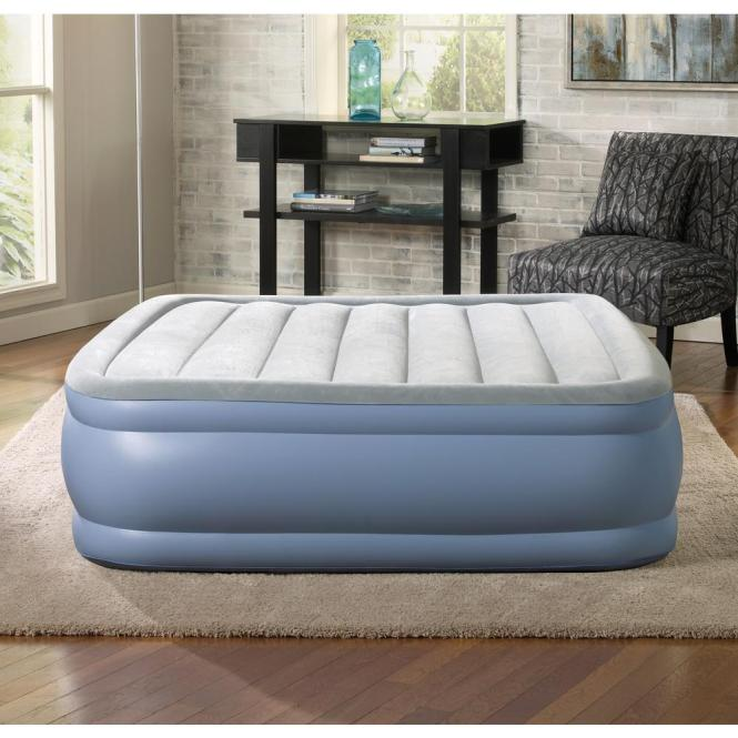 Hi Loft Raised Adjule Air Bed Mattress Set