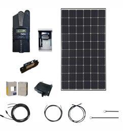 renogy 4500 watt 48 volt monocrystalline solar cabin kit for off grid solar [ 1000 x 1000 Pixel ]