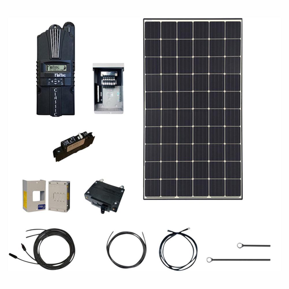 medium resolution of renogy 4500 watt 48 volt monocrystalline solar cabin kit for off grid solar