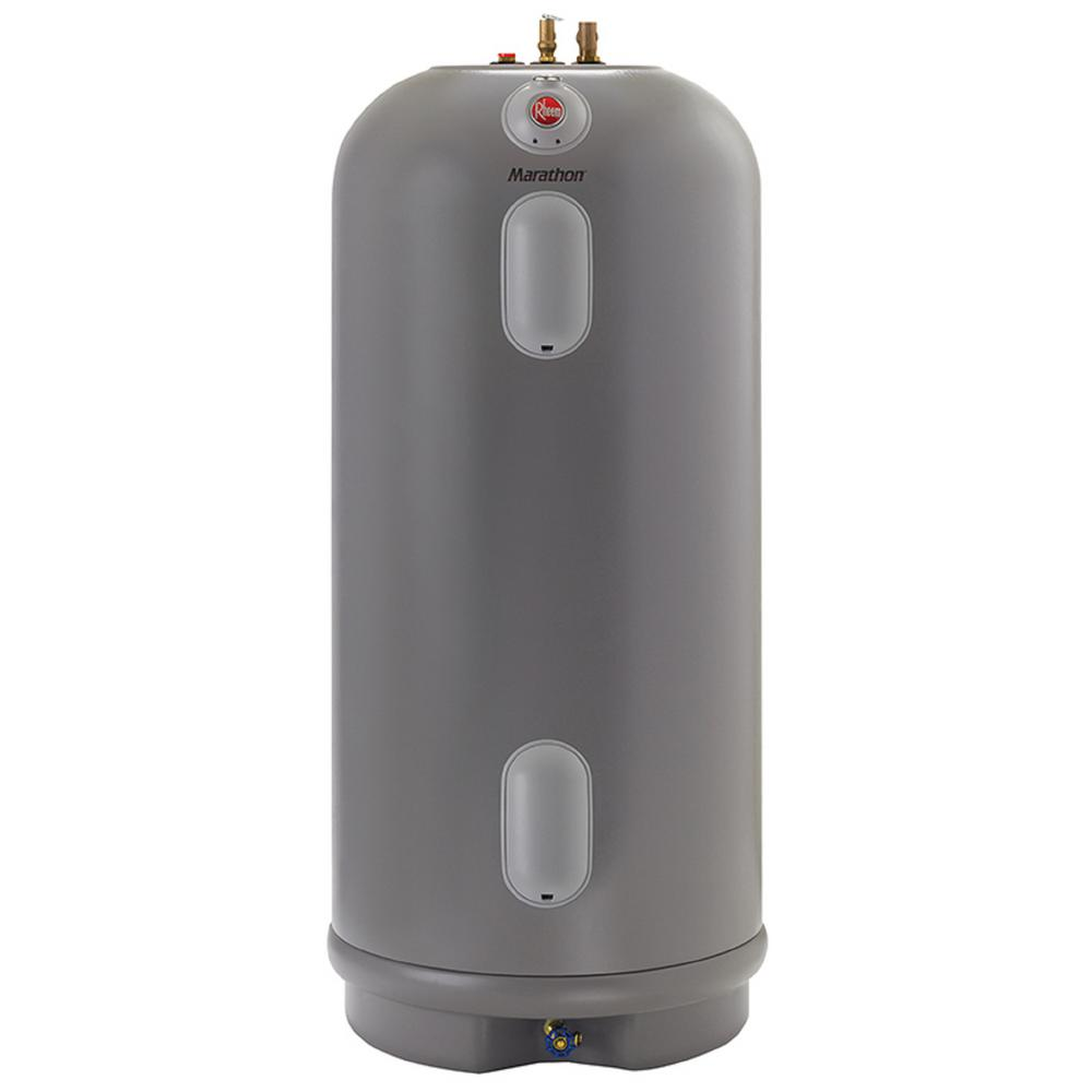 medium resolution of rheem commercial marathon 105 gal lifetime 4500 4500 watt non metallic electric tank water heatermarathon water
