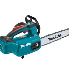 makita 10 in 18 volt lxt lithium ion brushless cordless top handle chain [ 1000 x 1000 Pixel ]