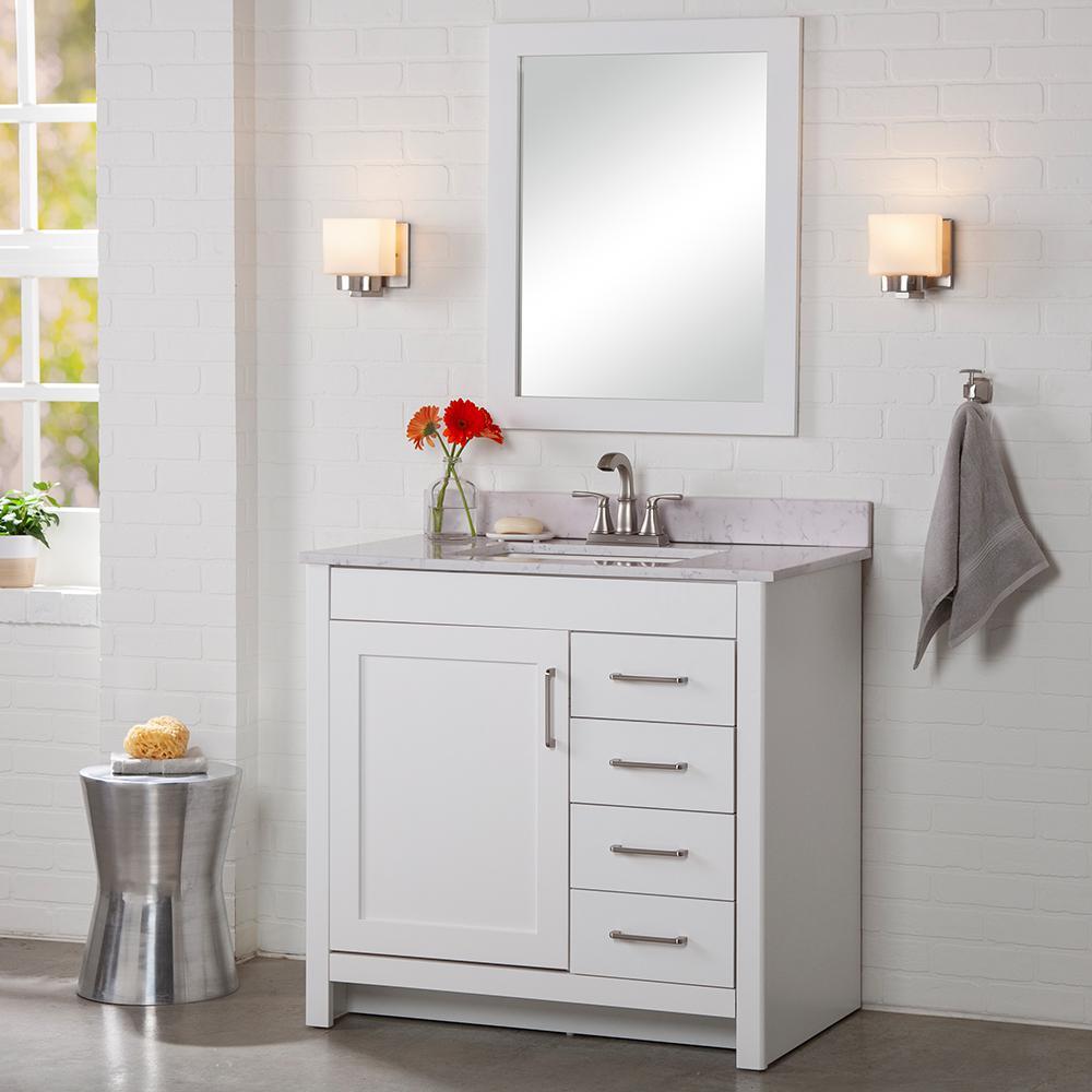 Bathroom Vanities Without Tops Bathroom Vanities The Home Depot