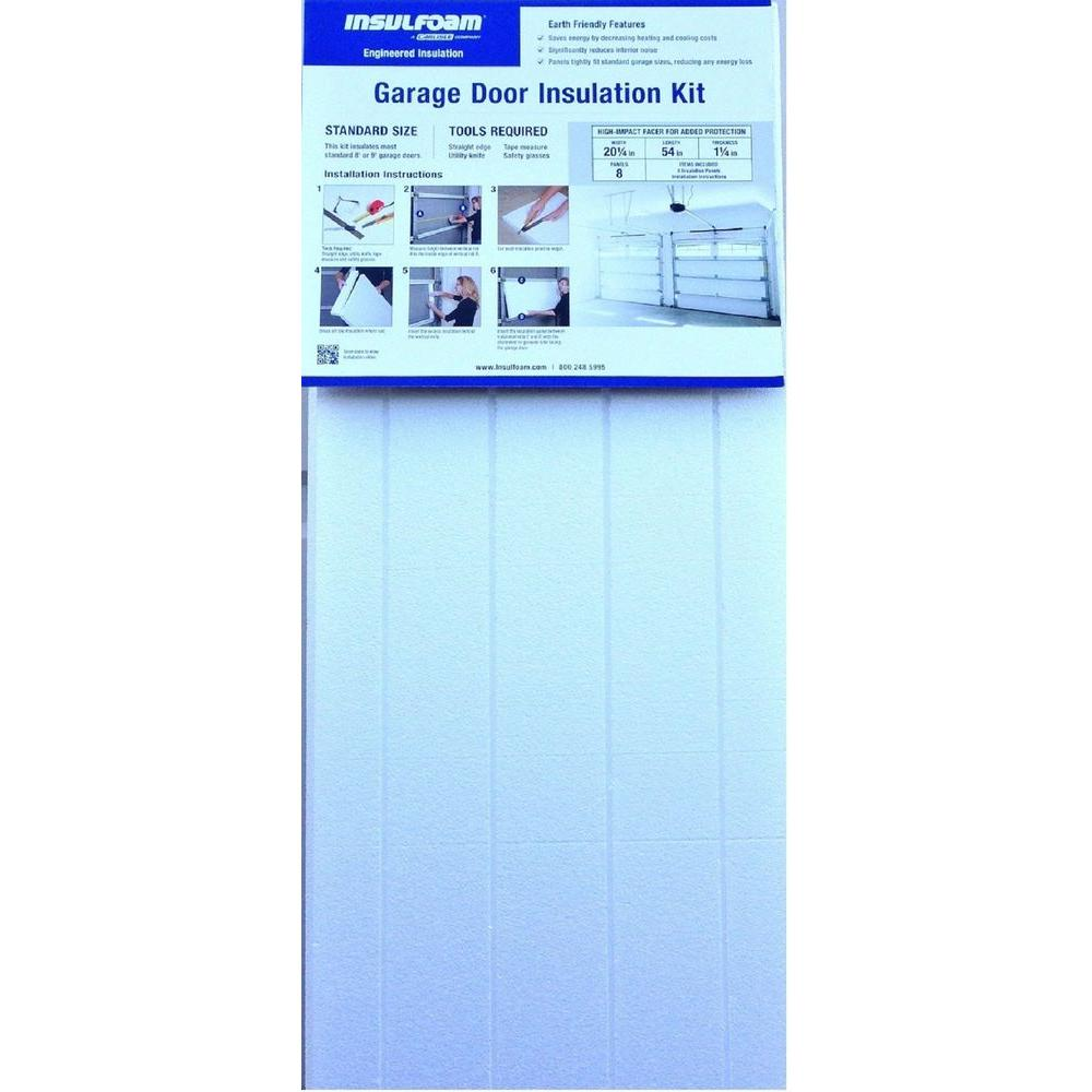 Insulfoam Garage Door Insulation Kit Uk