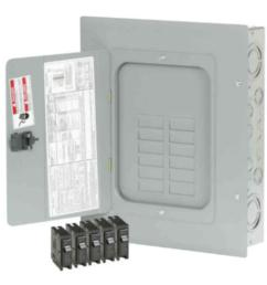 br 125 amp 12 space 24 circuit indoormain lug loadcenter with cover value pack includes [ 1000 x 1000 Pixel ]