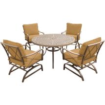 Hanover Summer Nights 5-piece Outdoor Dining Set With
