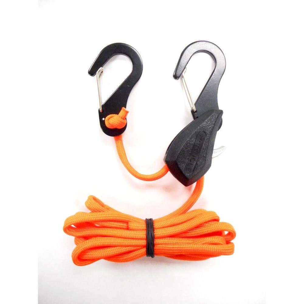 hight resolution of progrip better than bungee 6 ft paracord 100 lb break strength particle rope lock