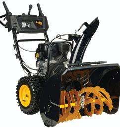 poulan pro pr300 30 in two stage gas snow blower [ 1000 x 1000 Pixel ]