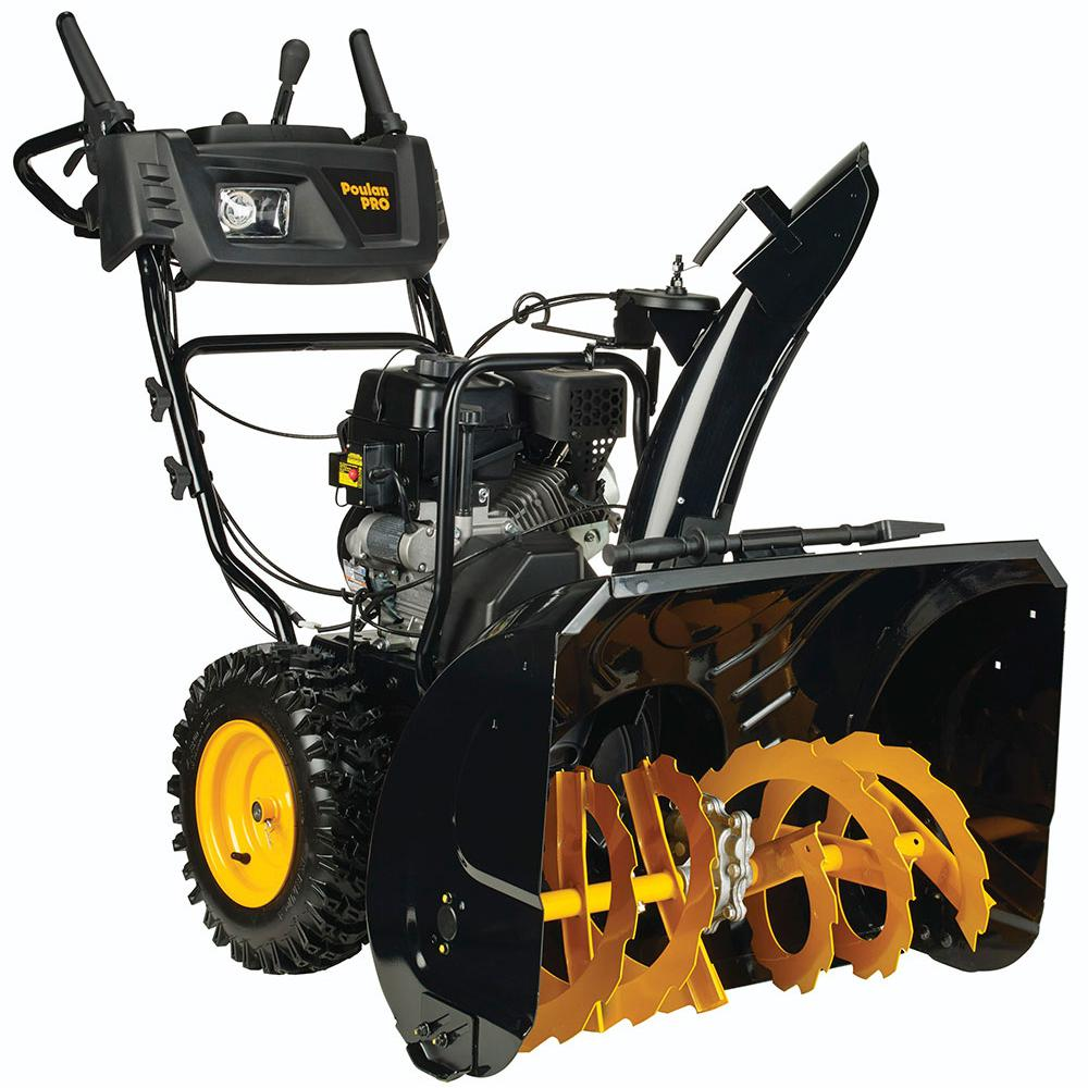 medium resolution of poulan pro pr300 30 in two stage gas snow blower