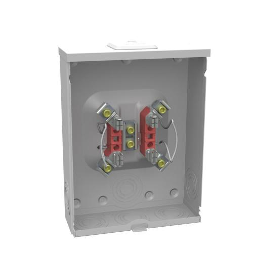 small resolution of 200 amp 4 terminal ringless overhead underground meter socket