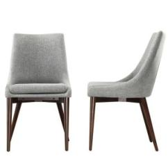 Grey Dining Chairs Zero Gravity Lawn Chair Target Homesullivan Nobleton Cool Set Of 2 405048s2pc The Home Depot