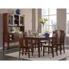 King Furniture Dining Chairs Rocking Chair Nursery Target International Concepts Tall Mission Espresso Set Of 2