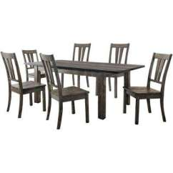 Grey Kitchen Table And Chairs Plastic Adirondack Home Depot Gray Dining Room Sets Furniture The Drexel 7 Piece Set
