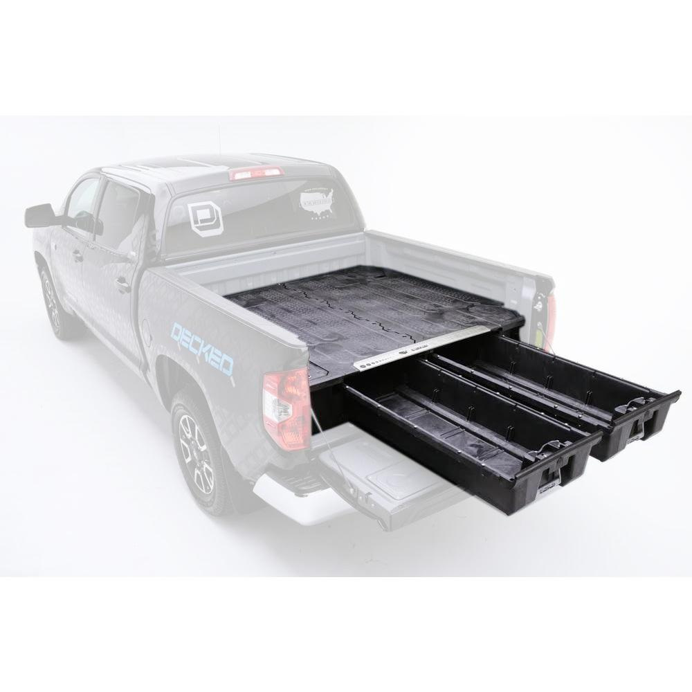 hight resolution of bed length pick up truck storage system for ford f150 aluminum 2015 current
