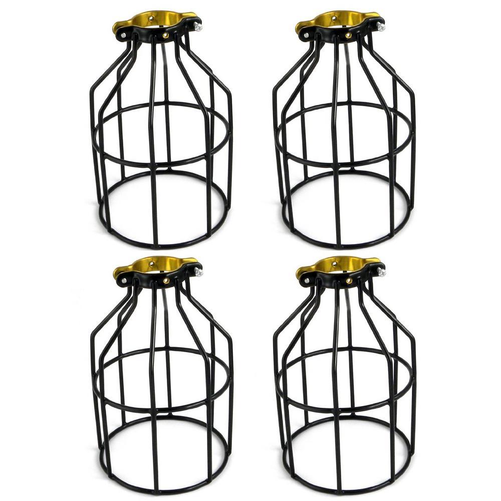 Adamax Metal Lamp Guard for String Light and Lampholder (4