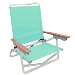 Beach Chairs Home Depot Modern Wooden 5 Position Aqua Folding Metal Chair S2101 1 The Store Sku 1002075989
