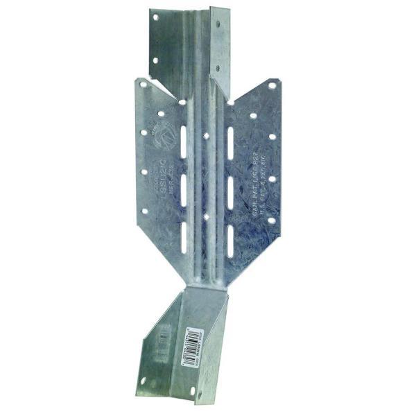 Simpson Strong-tie 2 In. X 10 18-gauge Light Adjustable U Joist Hanger-lssu210 - Home Depot