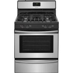 Kitchen Ranges Gas Electric Grinder Frigidaire 30 In 4 2 Cu Ft Range Stainless Steel