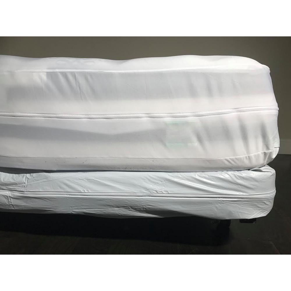 Hygea Natural Hygea Natural Bed Bug Vinyl And Waterproof Queen Mattress Or Box Spring Cover Vin 1004 The Home Depot