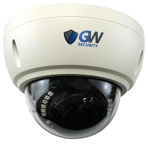 Gw Security Wired Ultrahd 4k 8mp Outdoor Dome Poe Ip Camera 3x Zoom Motorized 2.8-8 Mm Lens 160
