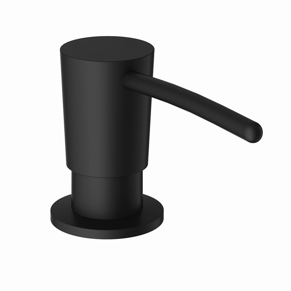dispenser kitchen inexpensive countertops options vigo soap in matte black vgsd003mb the home depot