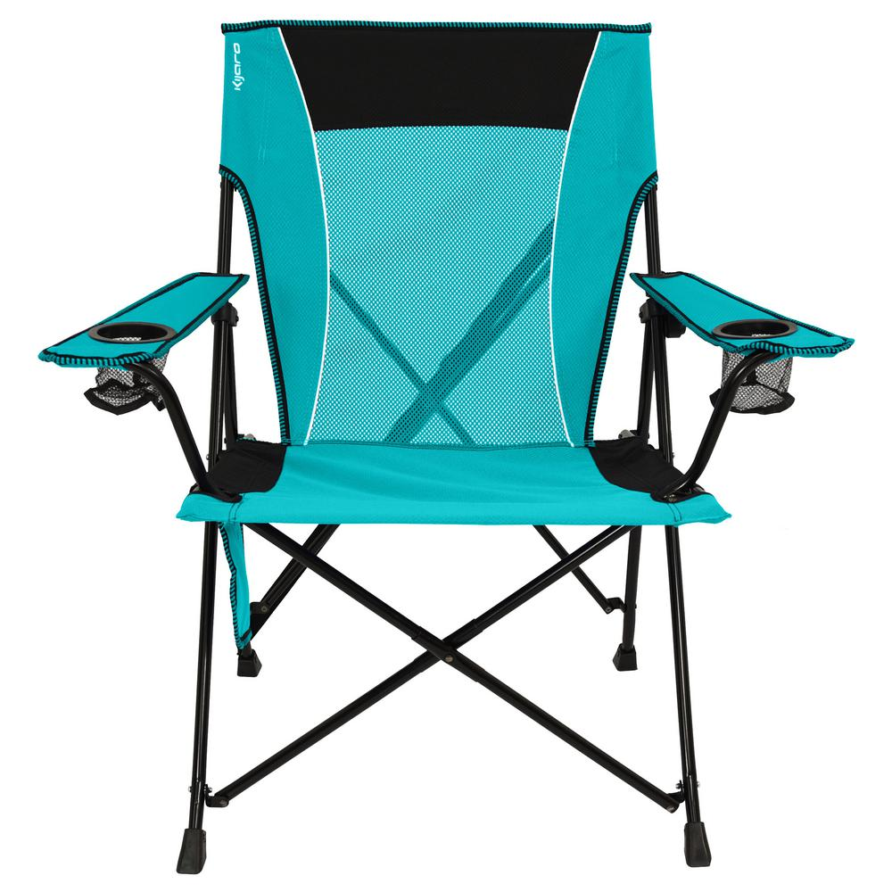 Picnic Chairs Details About Dual Lock Chair Portable Folding Cup Holders Camping Tailgating Picnic Turquoise