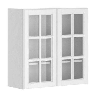 kitchen glass cabinets design cheap white birch ready to assemble birmingham wall cabinet in melamine and