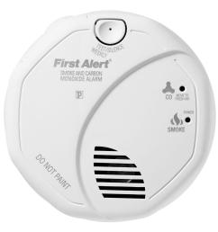 first alert battery operated smoke and carbon monoxide detector alarm [ 1000 x 1000 Pixel ]