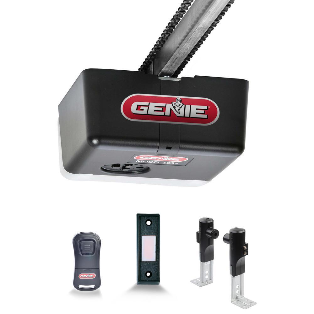 hight resolution of genie chain drive 500 1 2 hpc durable chain drive garage door opener