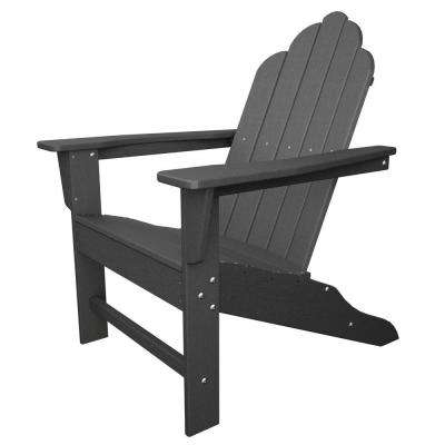 gray adirondack chairs threshold dining chair patio the home depot long island slate grey plastic lemon