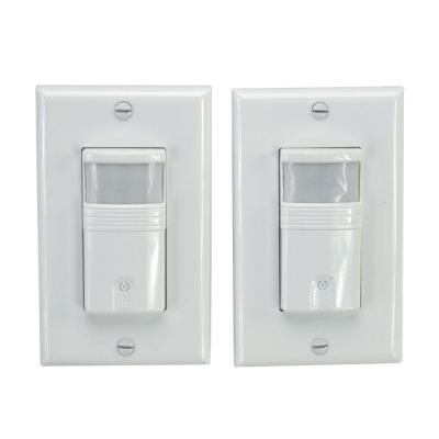 motion sensor light switch wiring diagram 97 jeep wrangler eaton activated occupancy wall white os310u 120 volt vacancy pir 2 pack