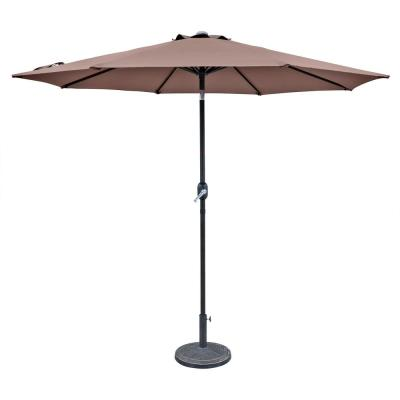 Island Umbrella Trinidad 9 ft. Aluminum Market Tilt Patio ...