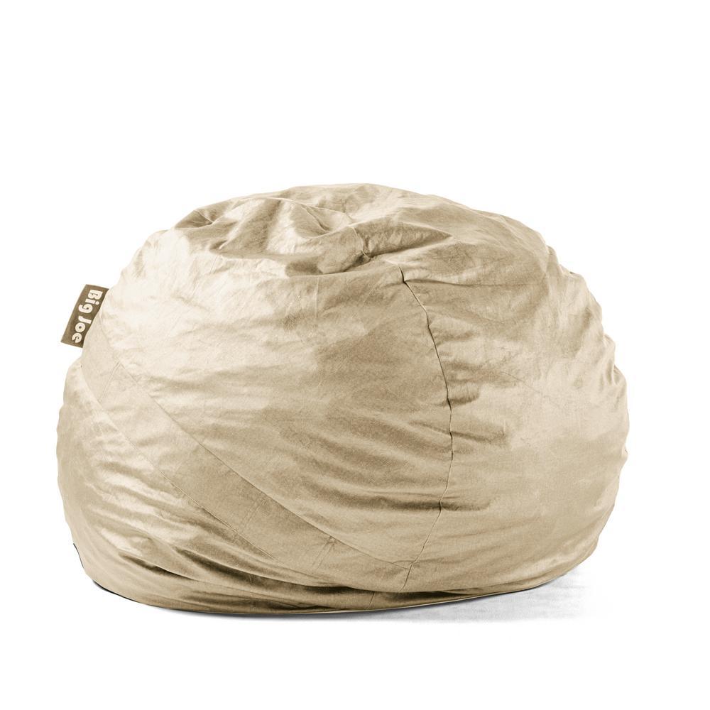 foam bean bag chair toddler high seat big joe large fuf shredded ahhsome oat lenox 0010659
