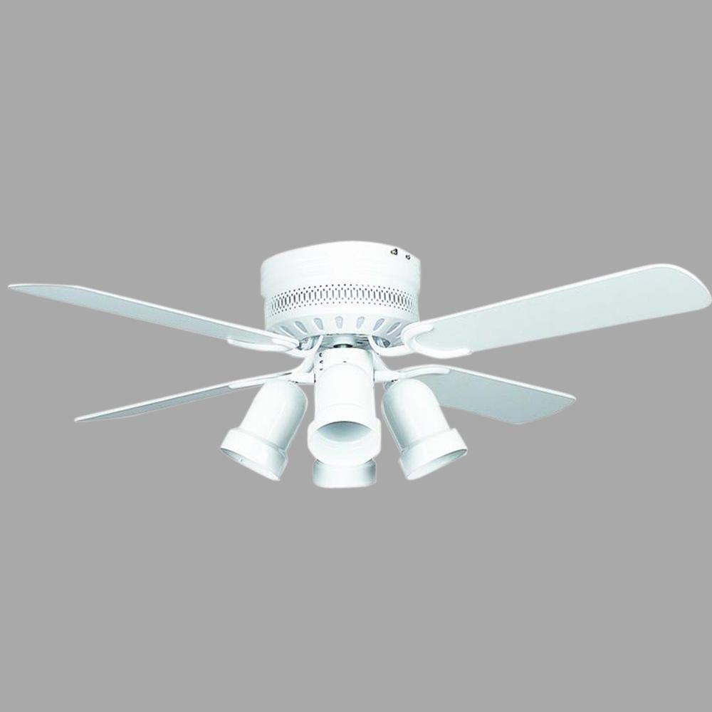 Concord Hugger 42 in. White Ceiling Fan