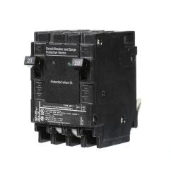 murray 20 amp 6 5 in whole house surge protected circuit breaker [ 1000 x 1000 Pixel ]