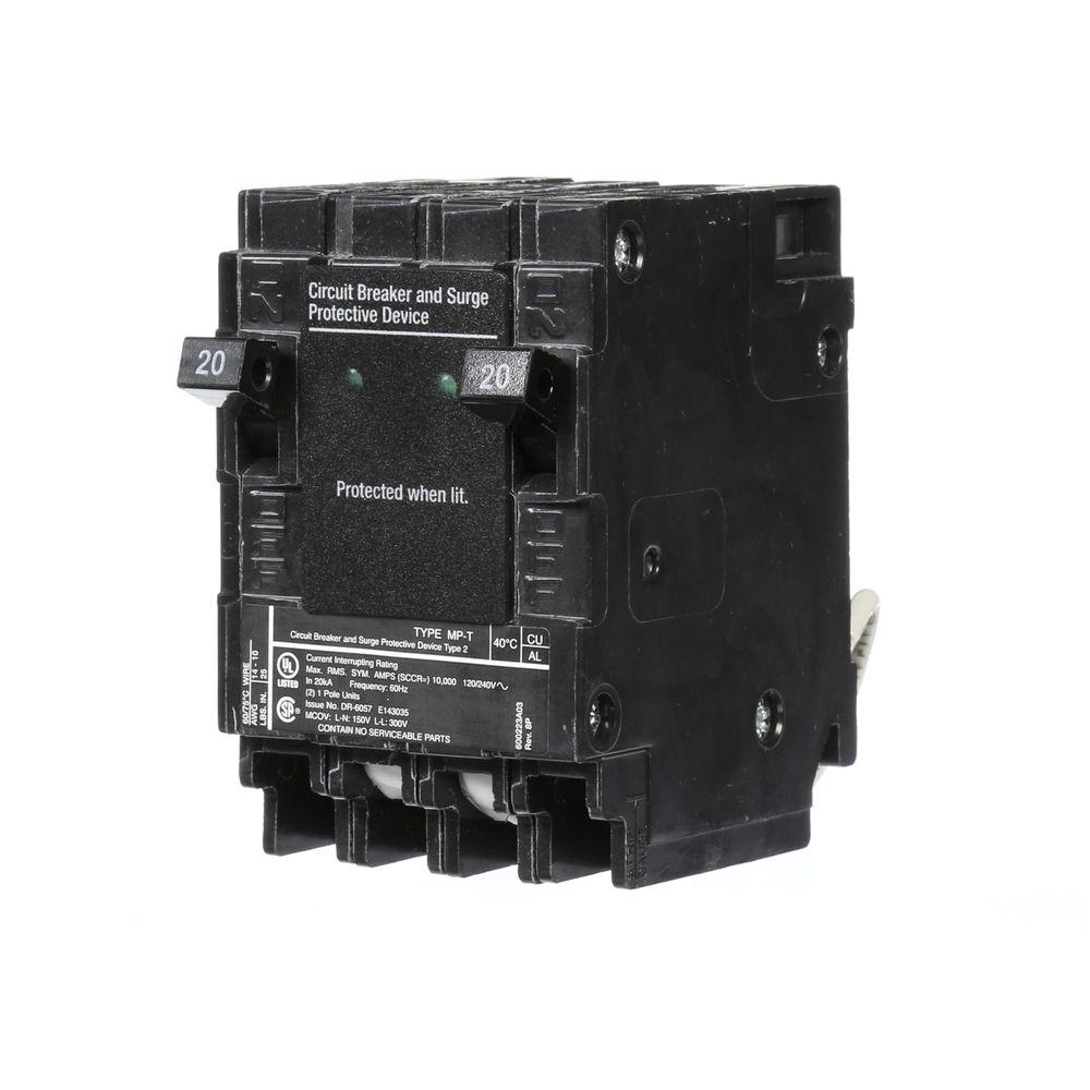 medium resolution of murray 20 amp 6 5 in whole house surge protected circuit breaker