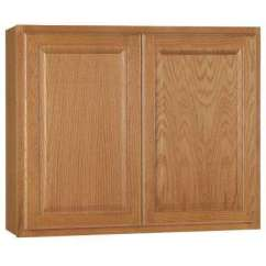 Oak Kitchen Cabinet Stores Denver Cabinets The Home Depot Wall In Medium