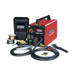 lincoln electric 88 amp handy mig wire feed welder with gun mig and 110 mig welder wiring diagram [ 1000 x 1000 Pixel ]