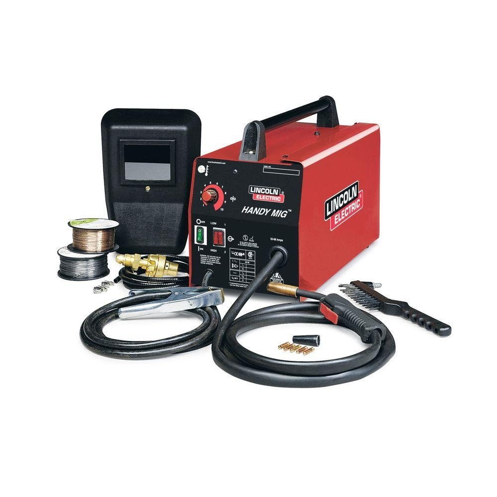 medium resolution of lincoln electric 88 amp handy mig wire feed welder with gun mig and 110 mig welder wiring diagram