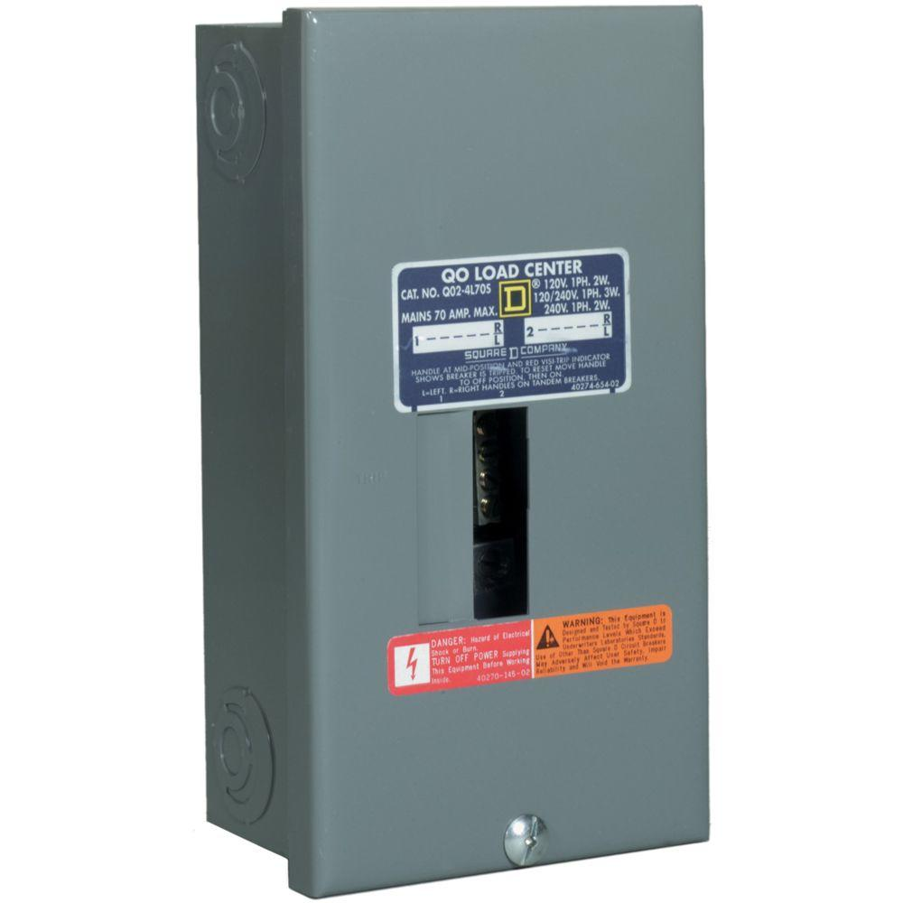 medium resolution of sub panel breaker further 2 square d 70a load center breaker wiring square d 2 pole gfci breaker wiring diagram square d breaker wiring diagram